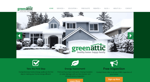 greenatticinsulation.com
