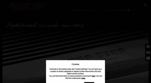 ground zero home ground zero audio. Black Bedroom Furniture Sets. Home Design Ideas