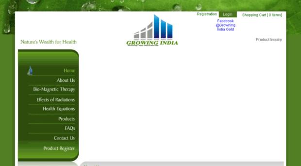 growingindiagold.com