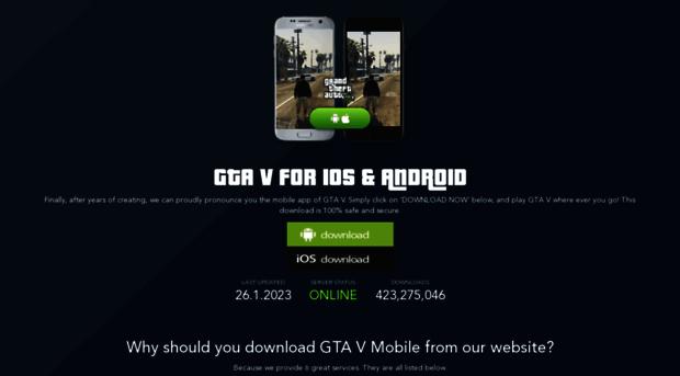 gta v mobile aptoide