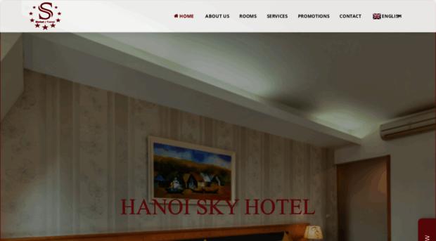 hanoiskyhotel.com