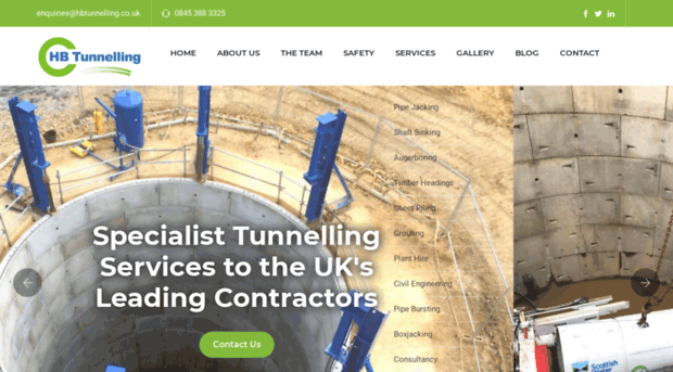 hbtunnelling.co.uk