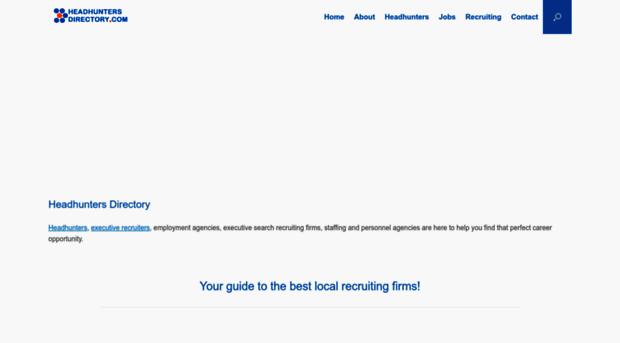 headhuntersdirectory.com