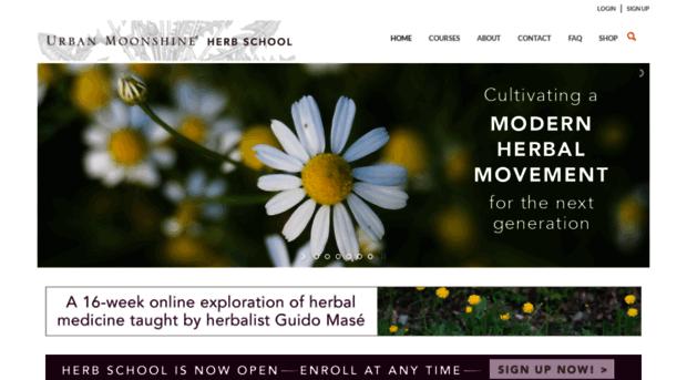 herbschool.urbanmoonshine.com