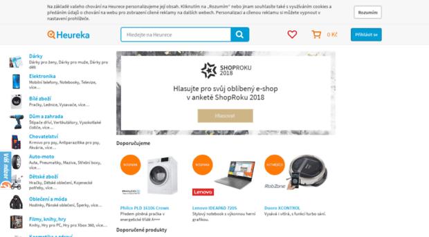 heureka.cz - Heureka.cz - Porovnání cen a s... - Heureka 2c34ffea143