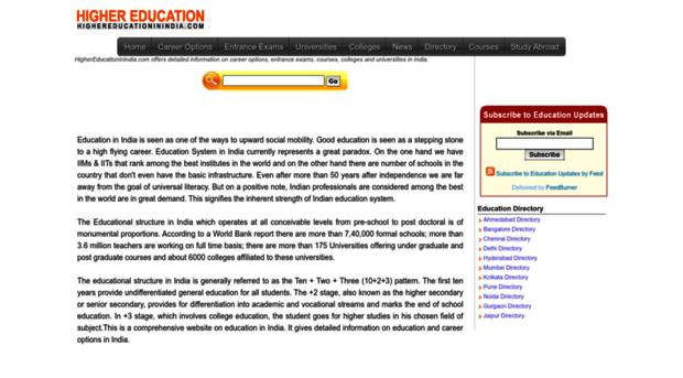 highereducationinindia.com