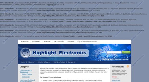 highlightelectronics.com.au
