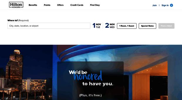 hiltonhhonors.com