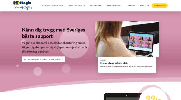 Hogiasmart Se Bokforingsprogram Online For S Hogia Smart