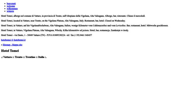 hoteltomei.it