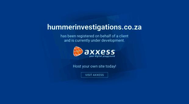 hummerinvestigations.co.za
