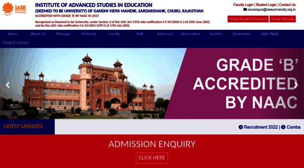 iaseuniversity.org.in