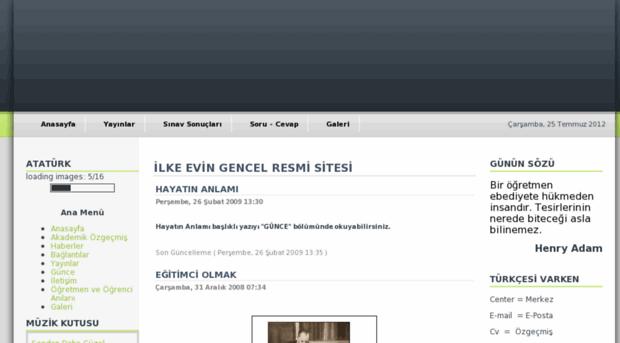 ilkegencel.com