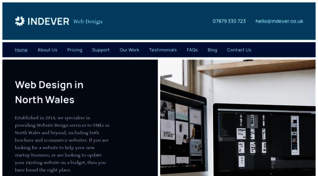 Indever Co Uk Web Design North Wales Web D Indever