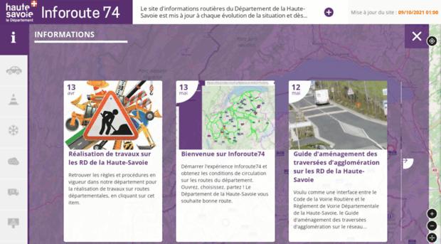 inforoute74.fr
