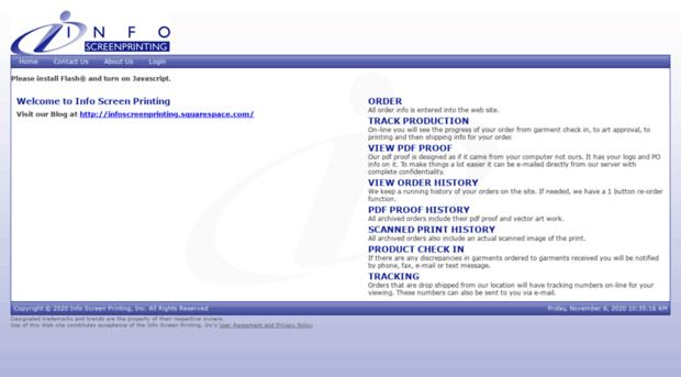 infoscreenprinting.net