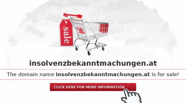 insolvenzbekanntmachungen.at
