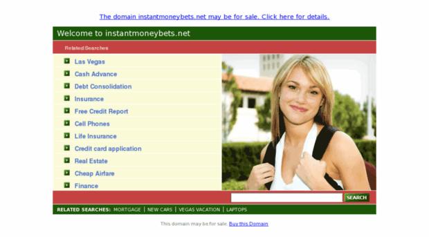 instantmoneybets.net