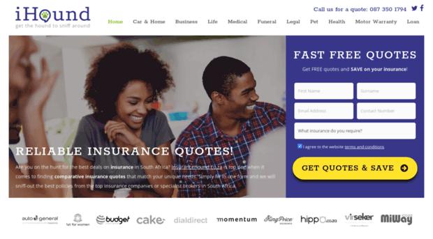 insurancehound.co.za