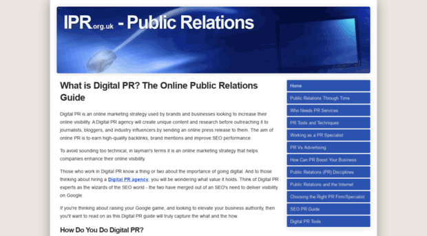 introduction to public relation Owning 1 of the 25 largest us pr firms, i am regularly asked about the best public relations books and as such, in no particular order wanted to offer my thoughts of the top 10 pr books, and marketing books this list is quite subjective, and one which is meant as a guidepost for those wanting to.
