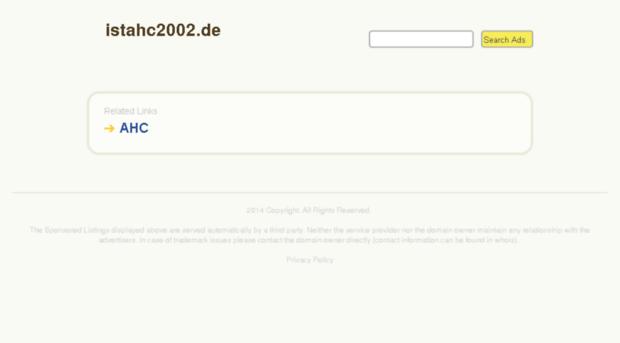 istahc2002.de