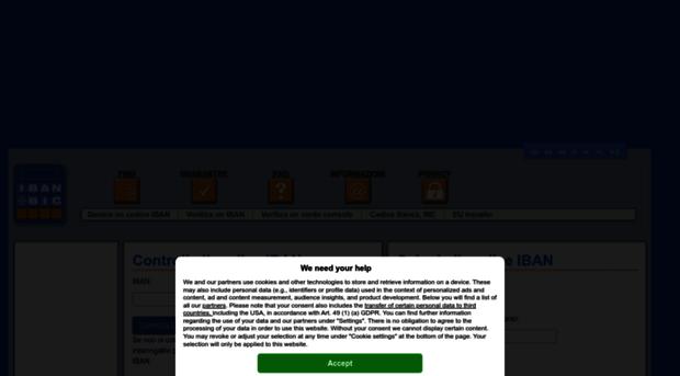 It Ibancalculator Com Calcolo Del Codice Iban Bic It Iban Calculator