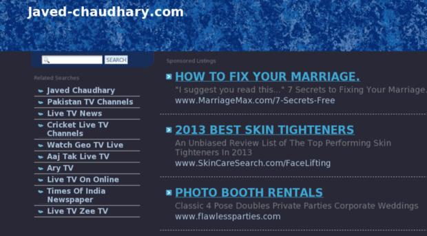 javed-chaudhary.com