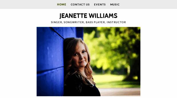 jeanettewilliams.com