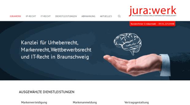 jurawerk.de