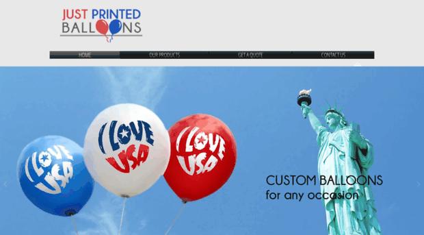 justprintedballoons.com