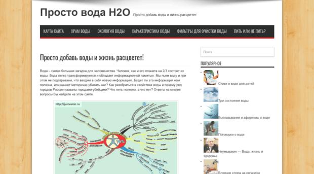 justwater.ru