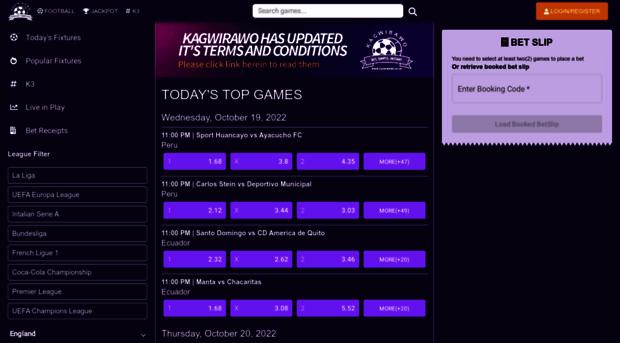Kagwirawo sports betting app how to verifications