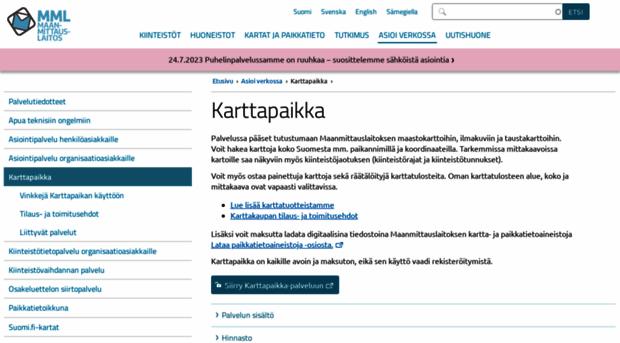 karttapaikka.fi