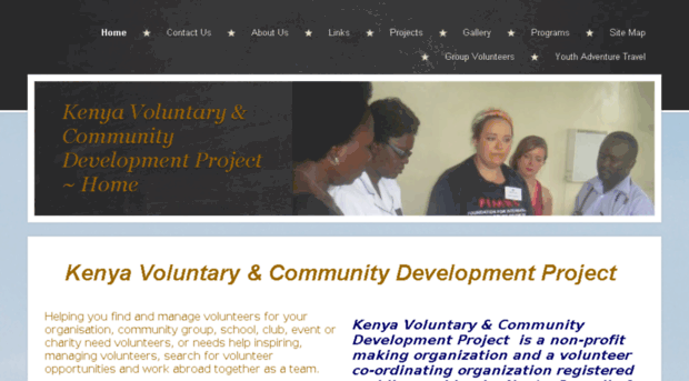 kenya voluntary and community development project This collection of community development ideas, examples, opinions, and photos lets visitors show their best of and tell how to sharing community development ideas through storytelling really accelerates your own learning and inspires others this page is a gateway to allow you, our visitors, to.