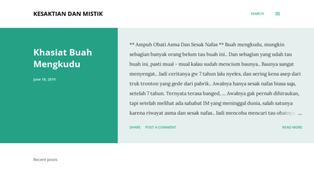 kesaktiandanmistik.blogspot.com