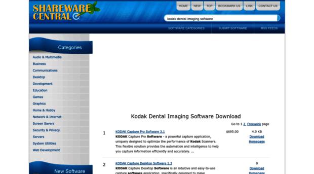 kodak-dental-imaging-software.sharewarecentral.com