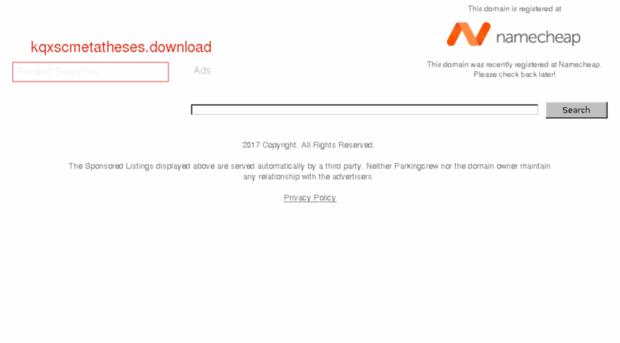 kqxscmetatheses.download
