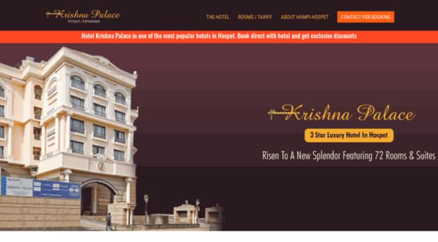 krishnapalacehotel.com