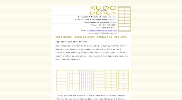 kudoshojidesign.com.au