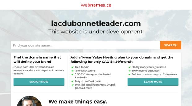lacdubonnetleader.com