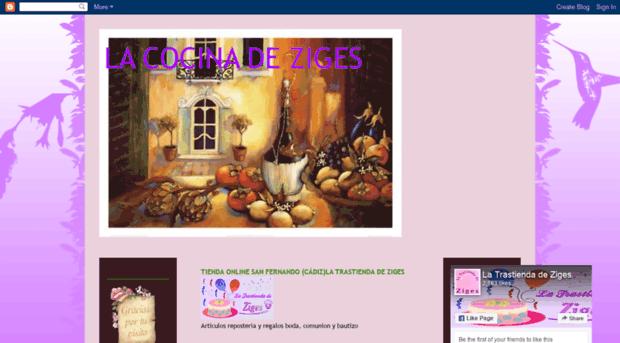 lacocinadeziges.blogspot.com