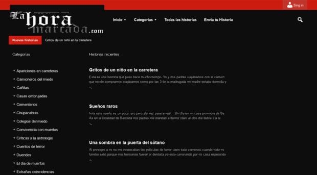 lahoramarcada.com