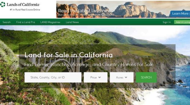landsofcalifornia.com