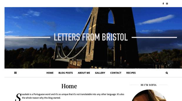 lettersfrombristol.co.uk