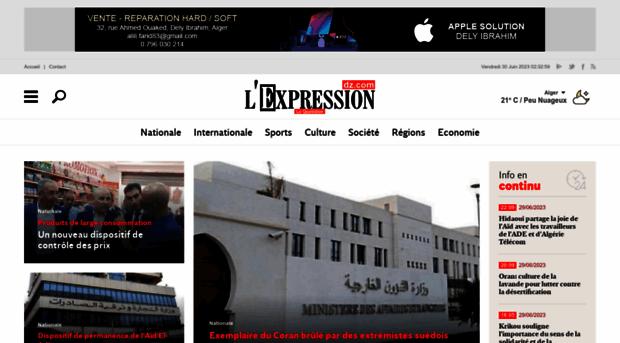 lexpressiondz.com