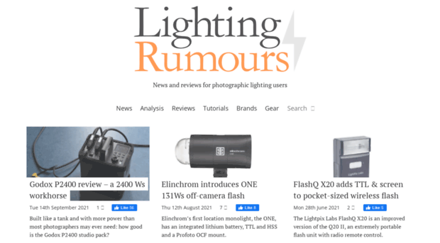 lightingrumours.com