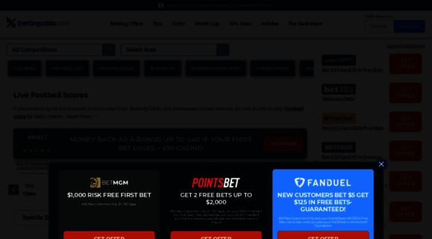 livescore betting directory enquiries