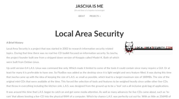 localareasecurity.com
