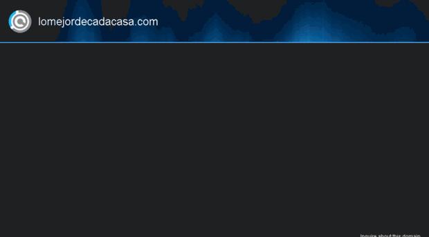 lomejordecadacasa.com