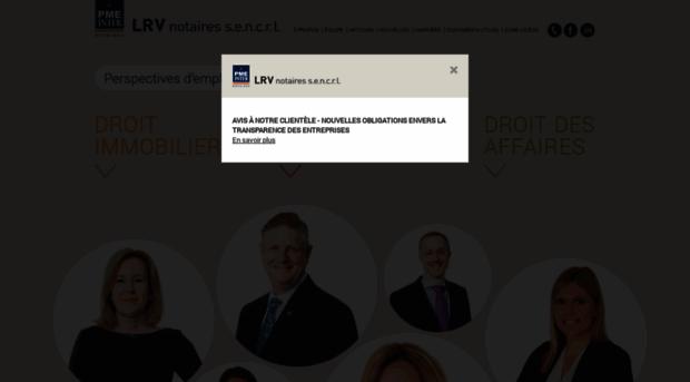 lrvnotaires.com